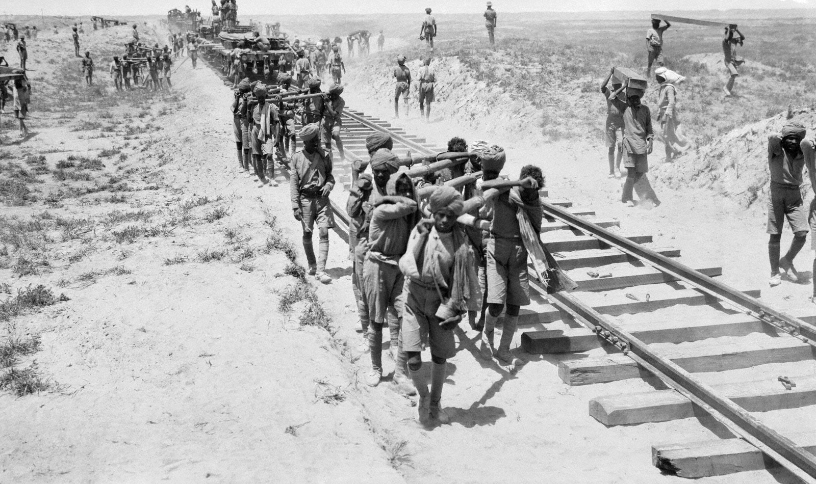 Indian military engineers in Mesopotamia