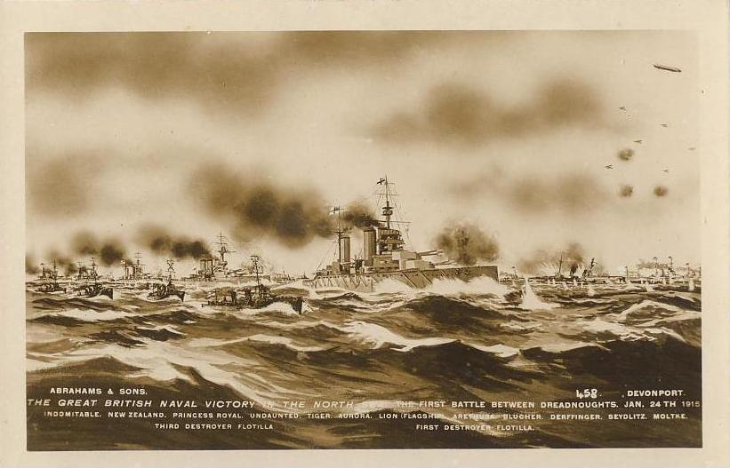 Battle of Dogger Bank, 1915