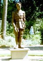 The Rupert Brooke statue