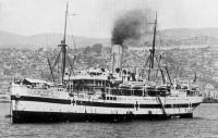 The Grantully Castle off Salonika, 1915