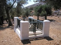 The Grave of Rupert Brooke on Skyros