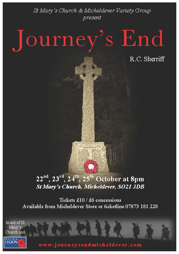 Micheldever Journey's End Poster