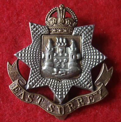 Cap Badge of the East Surrey Regiment