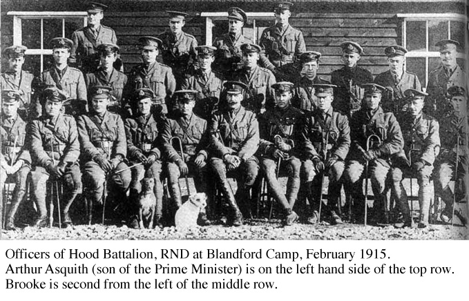 Officers of Hood Battalion