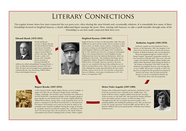 Literary Connections No.1 poster