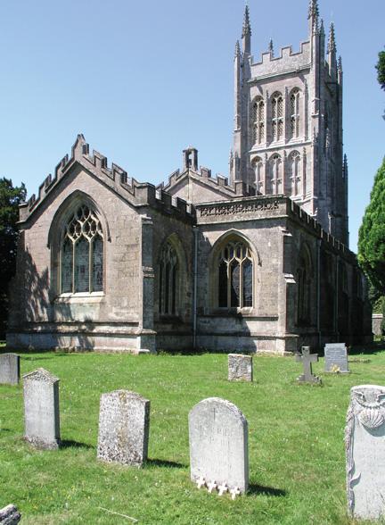 Mells Church, Somerset