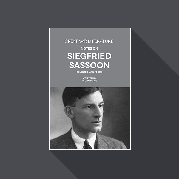 base details by siegfried sassoon essay Base details is a war poem written by siegfried sassoon in this essay explores language at word level well and shows a good understanding of the choice.