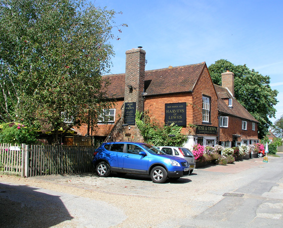 The Rose and Crown, Burwash