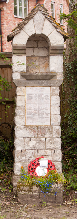 War Memorial, Steep